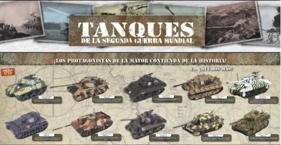 Tanques De La Segunda Guerra Mundial Planeta Deagostini