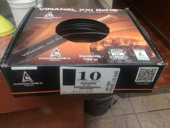 Cable Vinnanel Thw Condumex #10 Cobre 100%