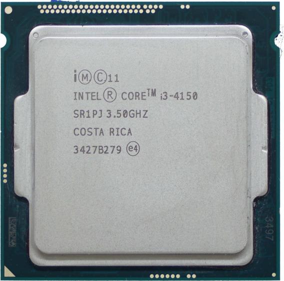 Processador Intel Core I3-4150, Cache 3mb, 3.5ghz Lga 1150