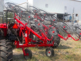 Tractor Agricola Mf1508 Rastrillo 8 Soles Flexibles Nuevo