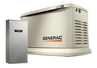 Planta Electrica Generac De 22 Kva Dual A Gas Y Gasolina