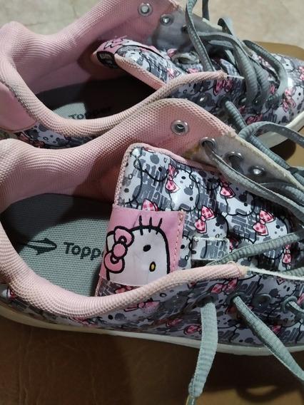 Zapatillas Niña Topper Hello Kitty Talle 34