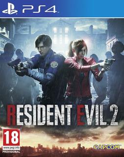 Resident Evil 2 Remake Ps4 Digital 1° Jugas Con Tu Usuario