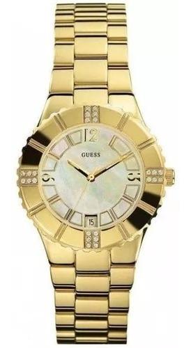 Relógio Feminino Guess Analógico I11065l1 - Dourado Original
