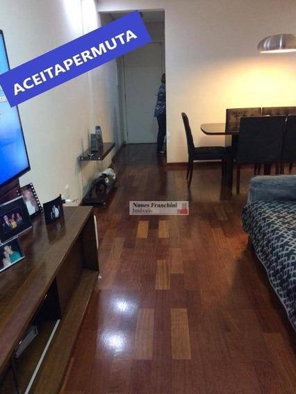 Apartamento Com 3 Dormitórios À Venda, 81 M² Por R$ 550.000,00 - Freguesia Do Ó - São Paulo/sp - Ap6992