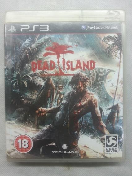 Jogo Ps3 Midia Fisica Usado Original Dead Island