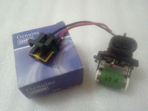Kit Resistencia Conector Electroventilador Ecosport 1.6 2.0