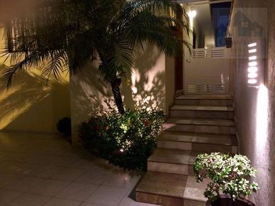 Casa Com 3 Dormitórios À Venda, 210 M² Por R$ 910.000 - Marapé - Santos/sp - Ca0455