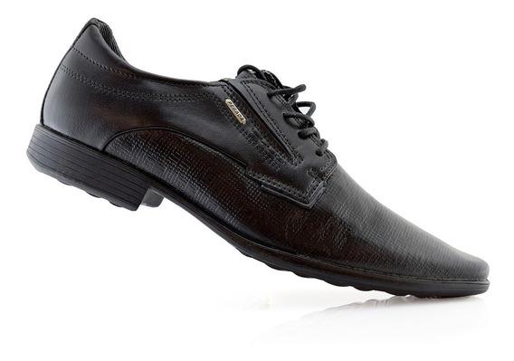 Zapatos Hombres Vestir Cuero 22818-01 Pegada Luminares