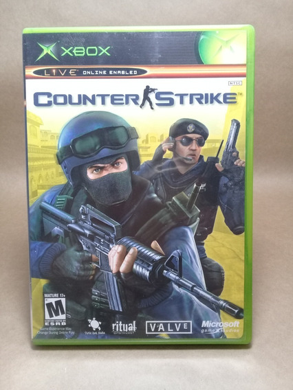 Counter Strike Xbox Clássico Original