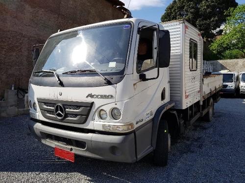 Mercedes-bens Acello 815 C Ano 2017/2018 Cabine Suplementar