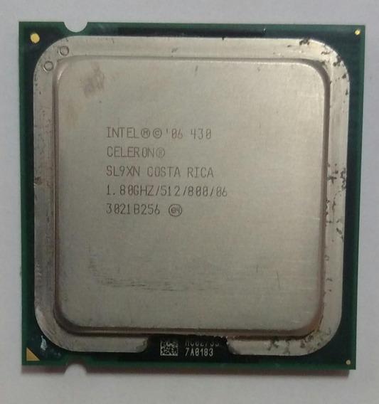 Processador Intel Celeron 430 1.80ghz / 512 / 800 - Lga 775