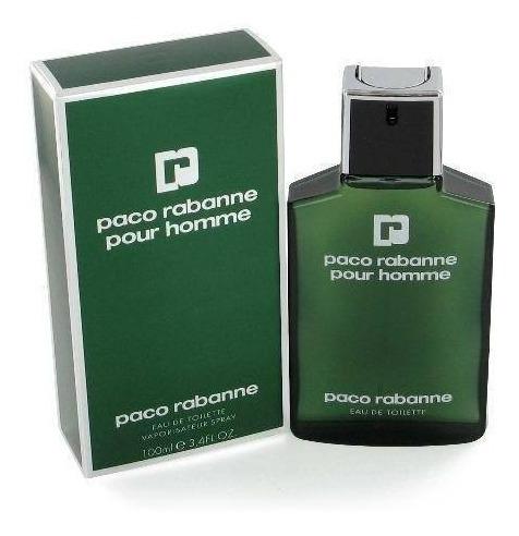 Paco Rabanne Pour Homme Verde Green Edt 100 Ml Lacrado