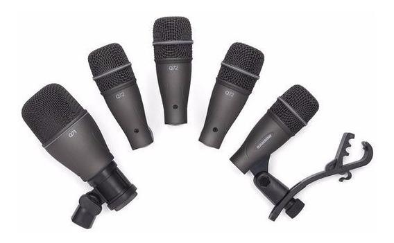 Samson Kit Pack 5 Micrófonos Batería Dk705 Comp Musica Pilar