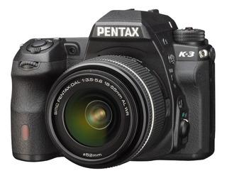 Cámara Reflex Profesional Pentax K3 | Aps-c 24 Mp | 4k |