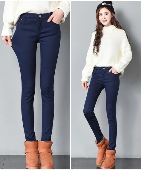 Pantalones Dama Corte Alto Drill Estresh