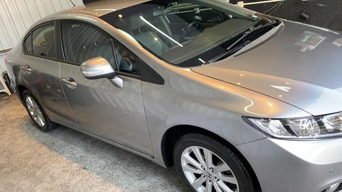 Honda Civic Lxr 2.0 Flex 2014 - Impecável
