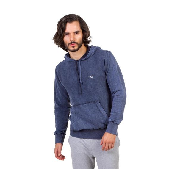 Moletom Canguru Brohood Azul Masculino