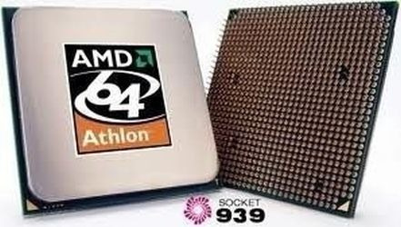 Cpu Processador Amd Athlon 3200 / Soquete 939 Pinos