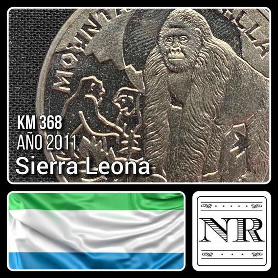 Sierra Leona - 1 Dolar - Año 2011 - Gorila - Km # 368