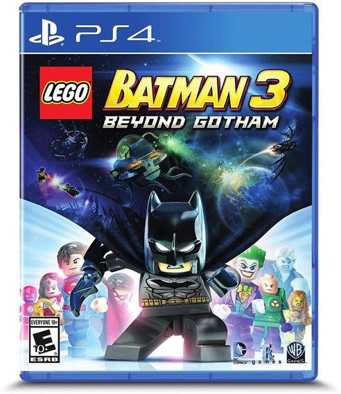 Lego Batman 3 Beyond Gotham Ps4 Mídia Física Novo Original