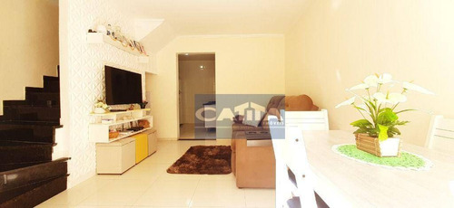 Imagem 1 de 24 de Sobrado Com 2 Dormitórios À Venda, 56 M² Por R$ 250.000,00 - Vila Carmosina - São Paulo/sp - So15411