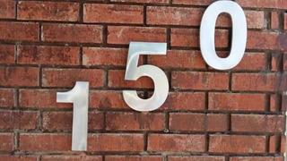 Número Para Casa House Number Mod. Arial 22 Cm