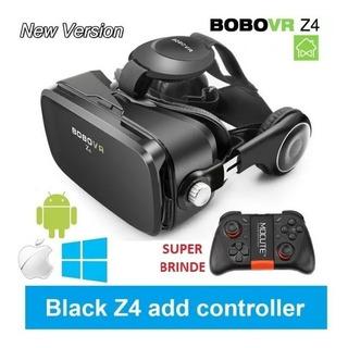 Óculos Realidade Virtual 3d Bobo Vr Z4 + Gamepad Bluetooth