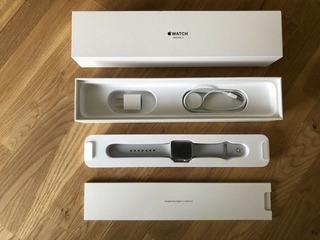 Apple Reloj Serie 3 Plata