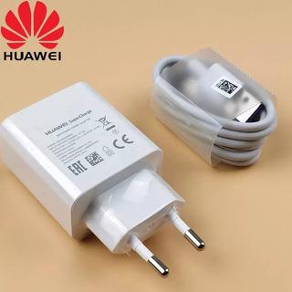 Carregador Huawei Supercharge Original Com Cabo Tipo C
