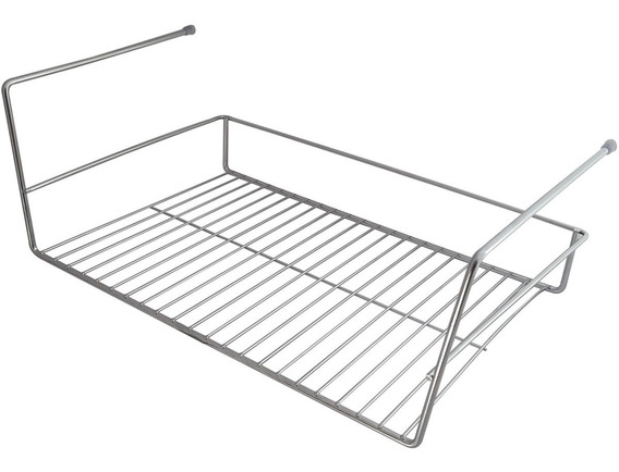 Cesto Suspenso Para Prateleira Organizador De Cozinha 46cm