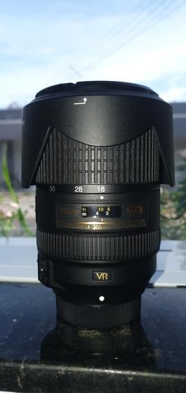 Lente Nikon 18-300 F3.5-5.6