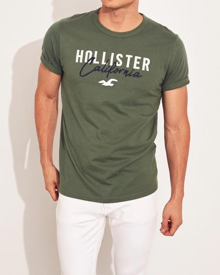 Remera Hollister Original Usa, Hombre, Nueva