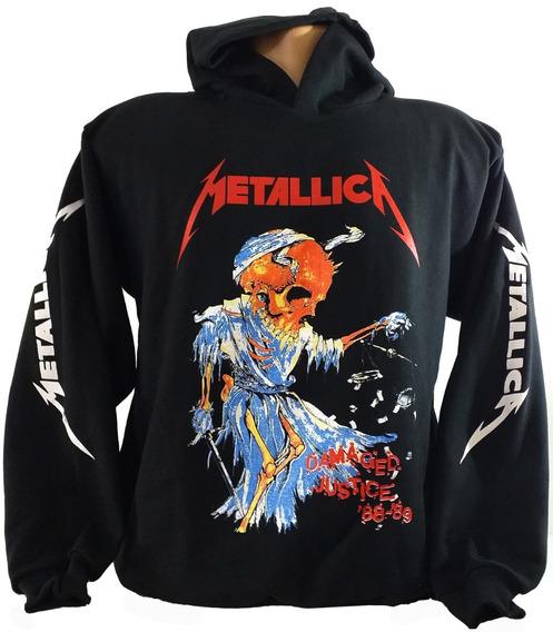 Blusa Metallica Damaged Justice.blusa Thrash Metal Metallica