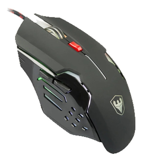 Mouse Satellite A-93 Gaming Opitical 7 Cores Led / 6 Botões
