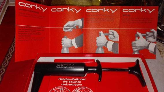 Sacacorchos De Aire A Presión Corky Made In Switzerland