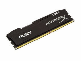 Memória Ram 8gb Ddr4 2400mhz Hyperx Gamer Fury Kingston