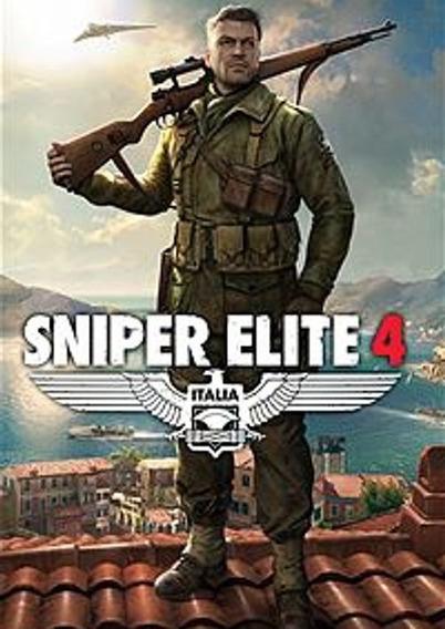 Sniper Elite 4 + 1 Jogo Gratis (mídia Física) Pc-dvd
