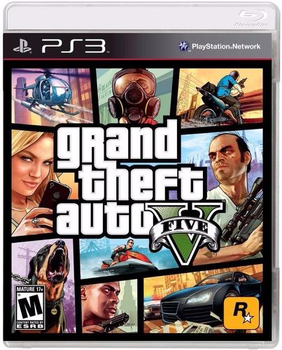 Imagen 1 de 2 de Grand Theft Auto Gta V 5 Ps3 Fisico Sellado Original Ade