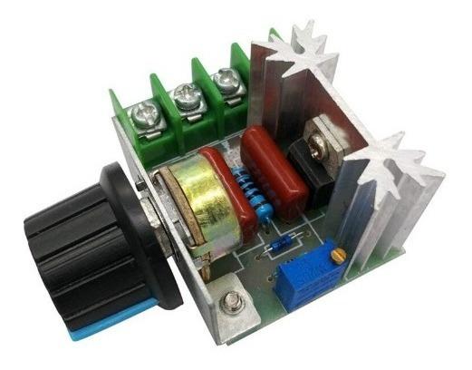 Kit 05 Regulador De Tensão Eletrônico 2000 W Ac 220 V Scr