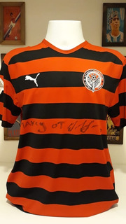Camisa Futebol Ankar Perm Da Russia Autografada