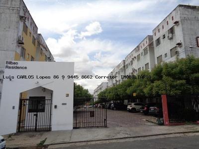 Apartamento Para Venda Em Teresina, Santa Isabel, 2 Dormitórios, 1 Banheiro, 1 Vaga - Apto Bilbao