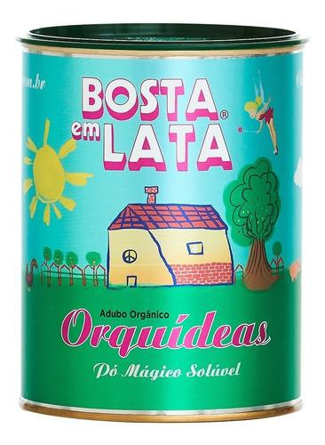 Fertilizante Orgânico Bosta Em Lata Orquídeas - 400 G