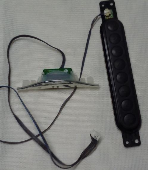 Teclado Sensor Remoto Cabo Flat Lvds Par Falantes 32ln549c