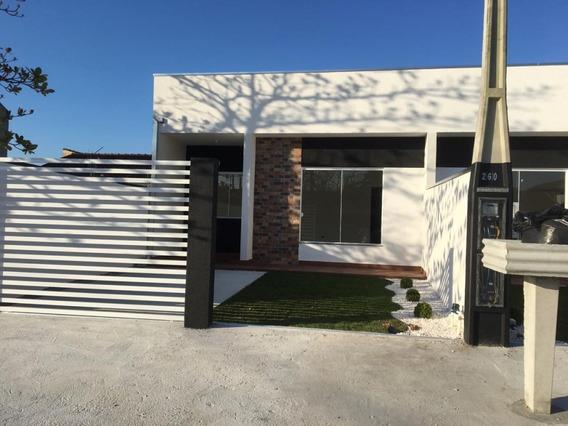 Casa Para Venda No Praia De Leste Em Pontal Do Paraná - Pr - 821