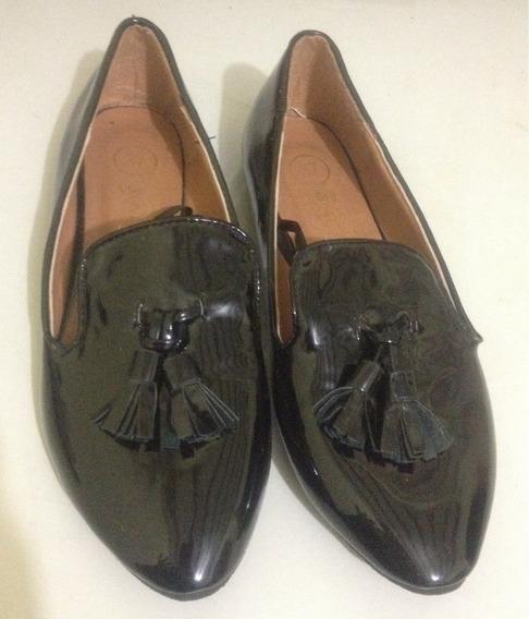 Zapatos Chatitas De Charol