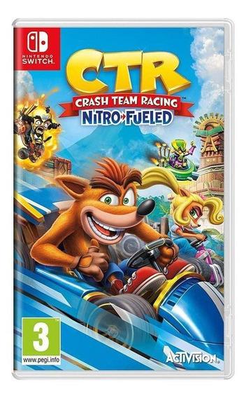 Crash Team Racing Nitro-fueled Switch Mídia Física