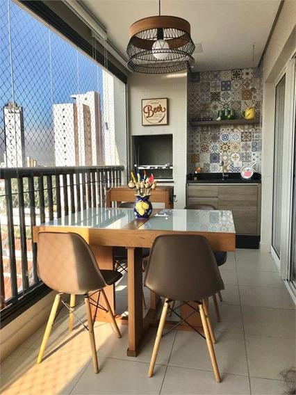 Belíssimo Apartamento Na Vila Paulicéia Com Varanda Gourmet - 170-im183622