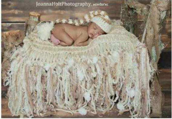 Manta Newborn Ensao Fotografico