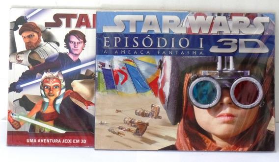 Livro Revista Star Wars 3d Ameaça Fantasma Aventura Jedi